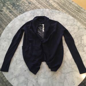 Lululemon Navy Sweater
